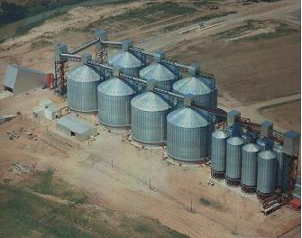Complejo granelero/  portuario Tradigran, A. Seco – Santa Fe