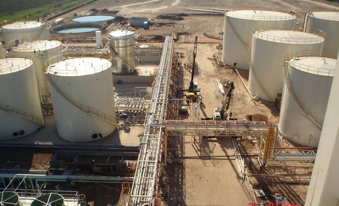 Obra Civil Biodiesel, San Lorenzo – Santa Fe